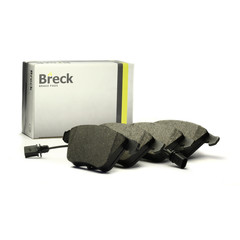 Breck brake system disc brake brake pad set with contact