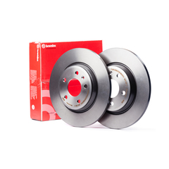 Brembo 08.4738.14 Rear Brake Discs 258mm Solid Mercedes E Class C124 W124 190