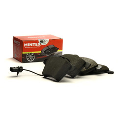 Mintex brake system disc brake brake pad set with contact