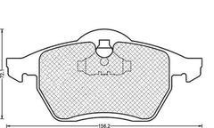430216170336 - Brake Pad Set, disc brake