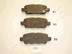 51-01-154 - Brake Pad Set, disc brake