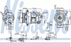 890030 - Compressor, air conditioning