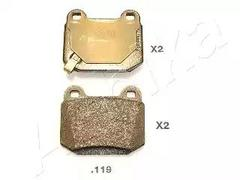 51-01-119 - Brake Pad Set, disc brake