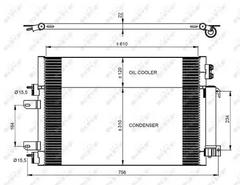 350086 - Condenser, air conditioning