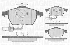 363916060143 - Brake Pad Set, disc brake