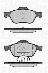 363916060384 - Brake Pad Set, disc brake