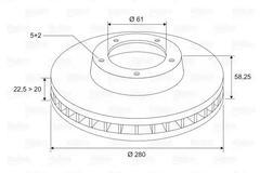7700767602 - Brake disc OE number by RENAULT | Spareto UK