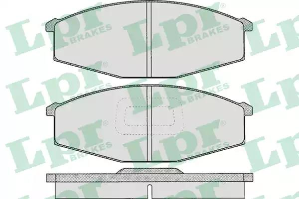 05P575 - Brake Pad Set, disc brake