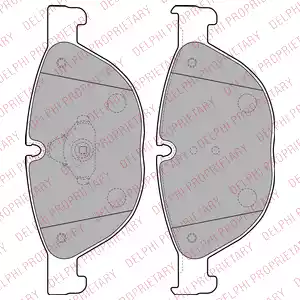 LP2189 - Brake Pad Set, disc brake