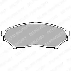 LP1448 - Brake Pad Set, disc brake