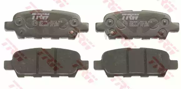 GDB3507 - Brake Pad Set, disc brake