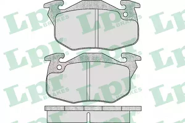 05P642 - Brake Pad Set, disc brake