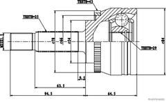 J2825128 - Joint Kit, drive shaft