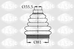 2933203 - Bellow Set, drive shaft