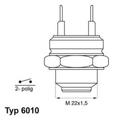 6010.92D - Temperature Switch, radiator fan