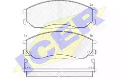 181372 - Brake Pad Set, disc brake