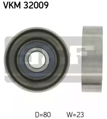 VKM 32009 - Deflection/Guide Pulley, v-ribbed belt
