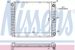 65525A - Radiator, engine cooling