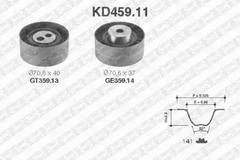KD459.11 - Timing Belt Set