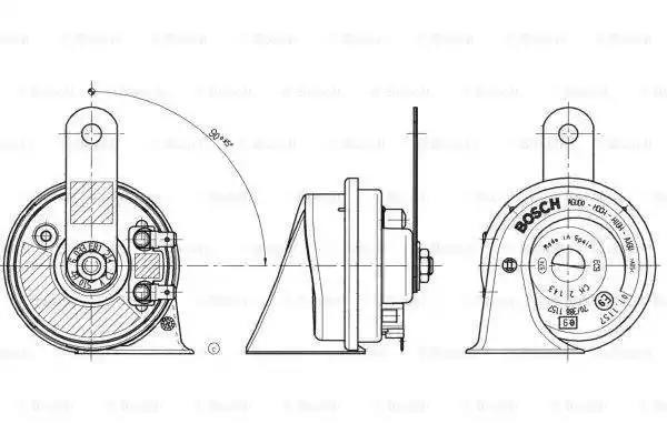 Bosch 6 033 fb1 214 Fanfare
