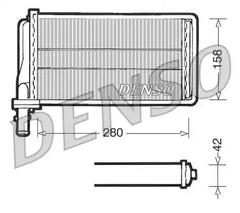 DRR01001 - Heat Exchanger, interior heating