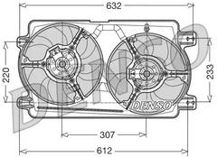 DER01018 - Fan, radiator