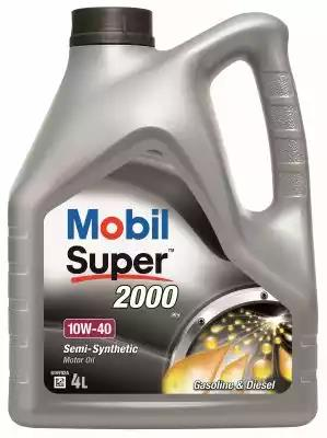 Mobil Super 2000 X1 10w 40 4l Semi Synthetic Engine Oil